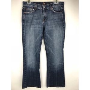 7 Seven For All Mankind Bootcut 30x27 Womens Jeans